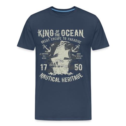 King of the Ocean - Men's Premium T-Shirt