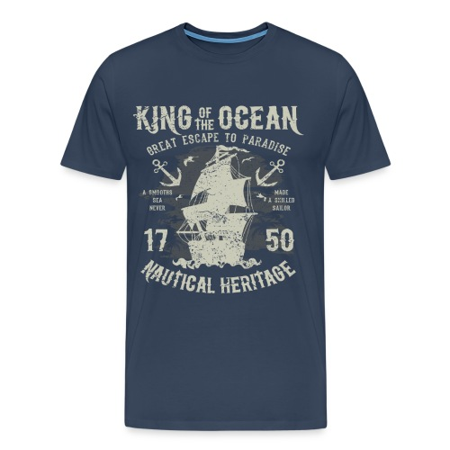 King of the Ocean - Men's Premium T-Shirt