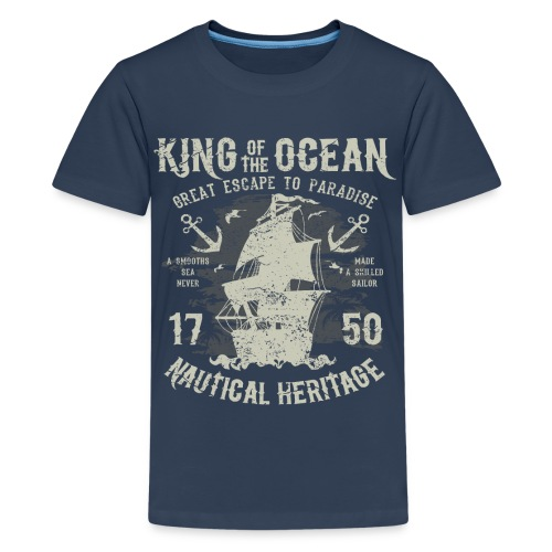 King of the Ocean - Teenage Premium T-Shirt