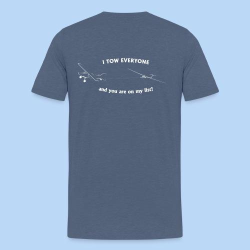 Schlepper T-Shirt dunkel - Männer Premium T-Shirt