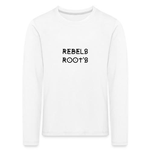 Pull Rebels Root's - T-shirt manches longues Premium Enfant