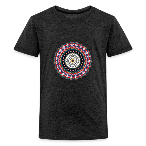 Mandala - Teenager Premium T-Shirt