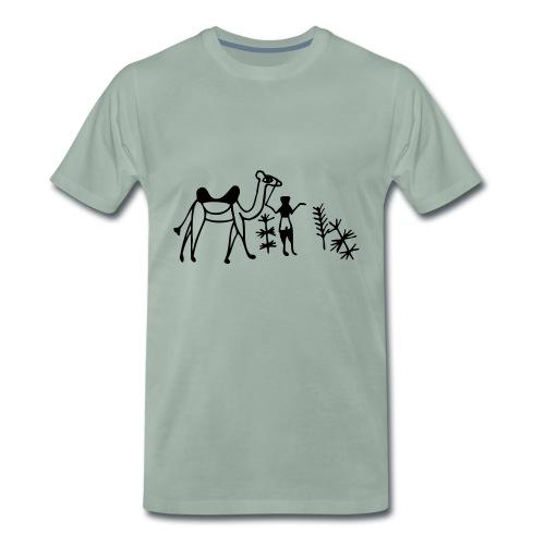 Kamel - Männer T-Shirt - Männer Premium T-Shirt