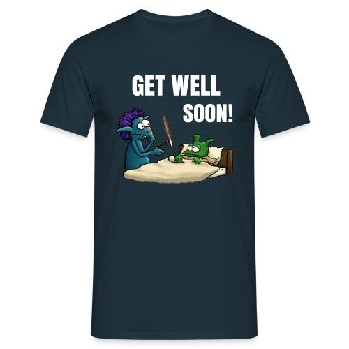 Get well soon Men T-Shirt navy - Men's T-Shirt