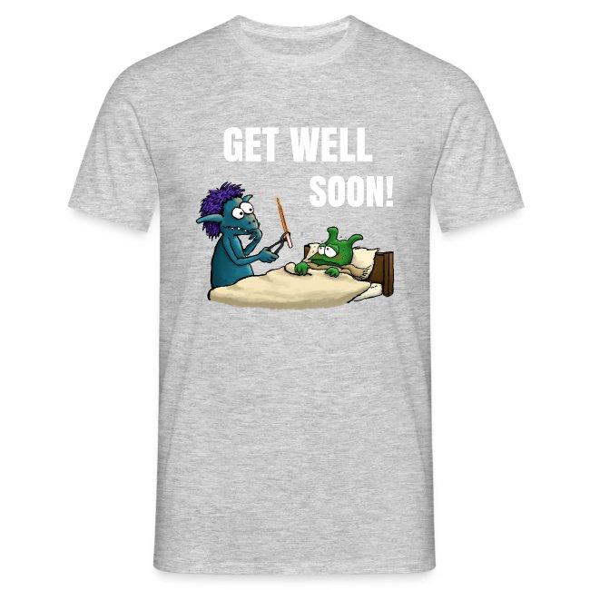 Get well soon Men T-Shirt navy