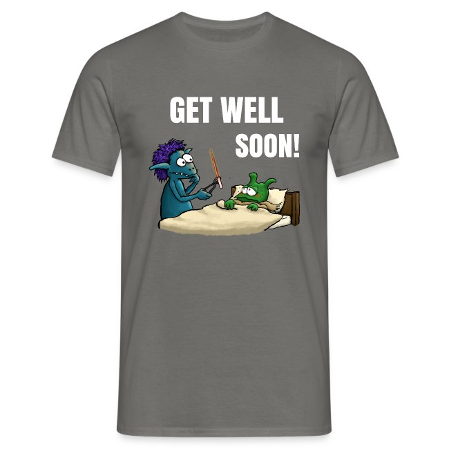 Get well soon Men T-Shirt navy