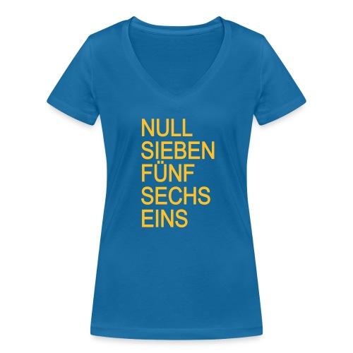 07561 T-Shirt Frauen (Bio) - Frauen Bio-T-Shirt mit V-Ausschnitt von Stanley & Stella