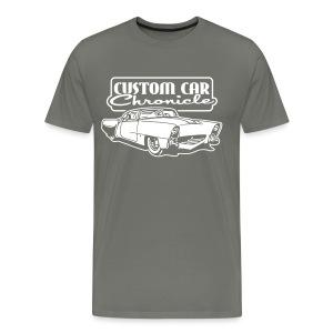 CCC-Golden Sahara, Velvet print - Men's Premium T-Shirt