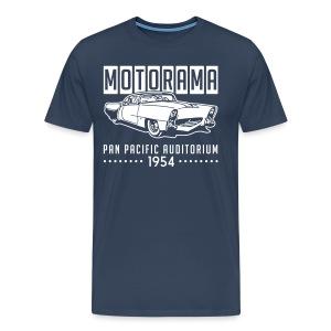 1954 Motorama Golden Sahara, Velvet print - Men's Premium T-Shirt