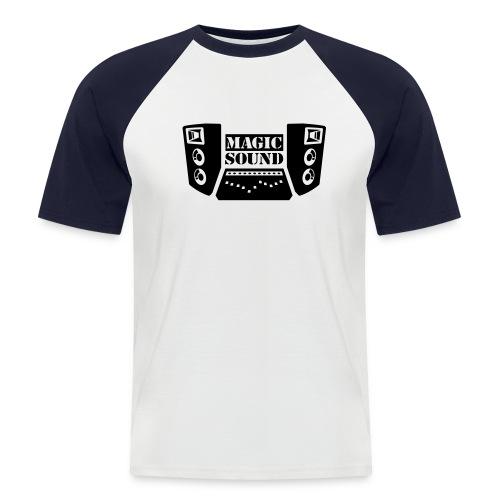 Magic Sound Shirt - Mannen baseballshirt korte mouw