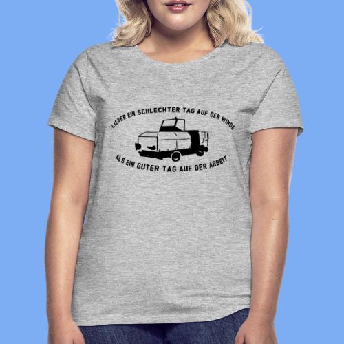 Lieber ein Tag auf der Winde Segelflieger Geschenk - Women's T-Shirt