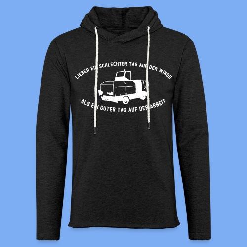 Lieber ein Tag auf der Winde Segelflieger Geschenk - Light Unisex Sweatshirt Hoodie