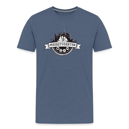 Meerstudenten - Männer Premium T-Shirt blau meliert - Männer Premium T-Shirt