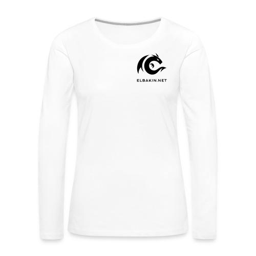 T-shirt femme blanc manches longues pour les grandes - T-shirt manches longues Premium Femme