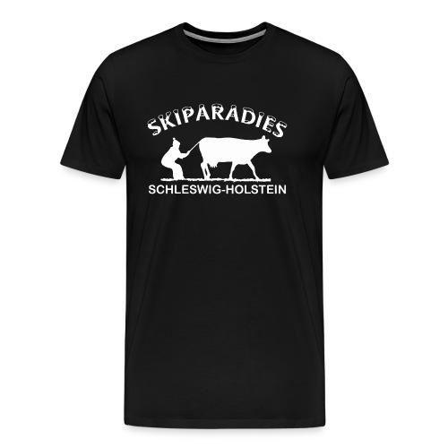 Skiparadies Schleswig-Holstein - Männer Premium T-Shirt