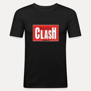 T-shirt Homme Clash from Paris - Tee shirt près du corps Homme