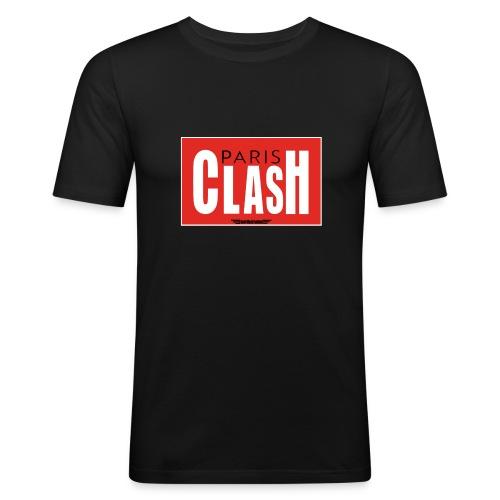 T-shirt Homme Clash from Paris - T-shirt près du corps Homme