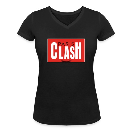 T-shirt Femme Clash from Paris - T-shirt bio col V Stanley & Stella Femme