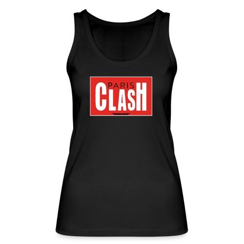 T-shirt Femme Clash from Paris - Débardeur bio Femme