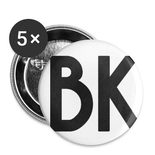 Fanbuttons BK - Buttons klein 25 mm