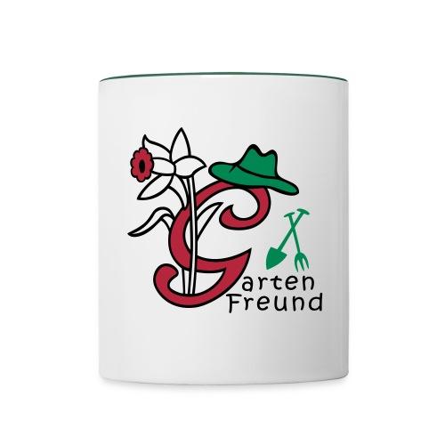 Gartenfreund - Tasse zweifarbig