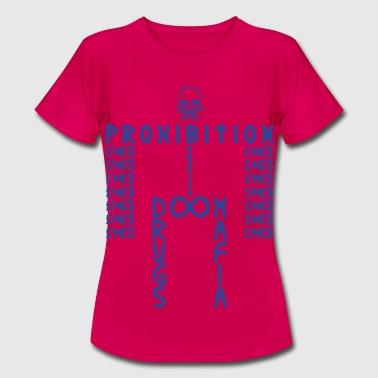 PROHIBITION (BLUE) - Frauen T-Shirt