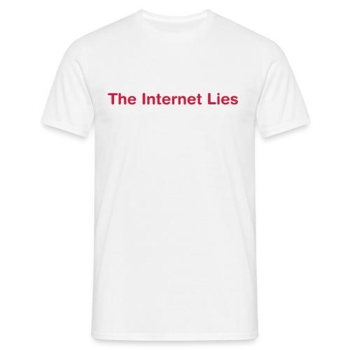 Lies - Men's T-Shirt