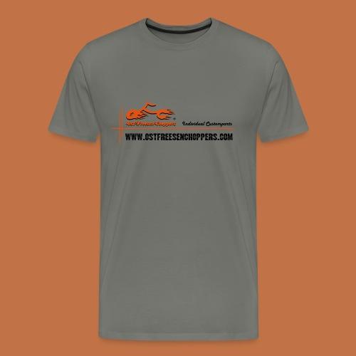 OFC Designlogo ® T-Shirt Spreadshirt - Männer Premium T-Shirt