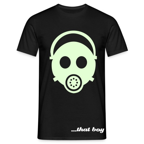 Mask - - *GLOWS IN THE DARK*  - Men's T-Shirt
