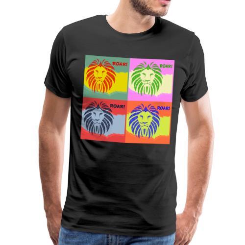 Roar Lion Shirt - Herre premium T-shirt