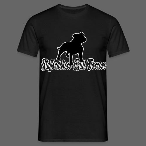 Staffordshire Bull Terrier - Herre-T-shirt