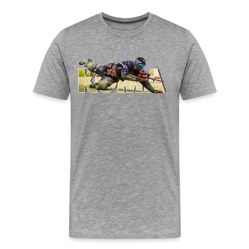 Männer Premium T-Shirt - Team DDR,Paintball,Koma Gera,Koma