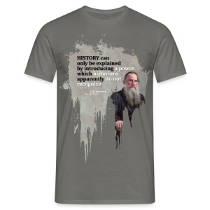 Leo Tolstoy Quote - T-shirt Homme