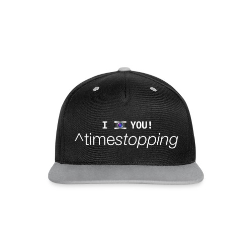 I (photo) you CUP 001 - Contrast Snapback Cap