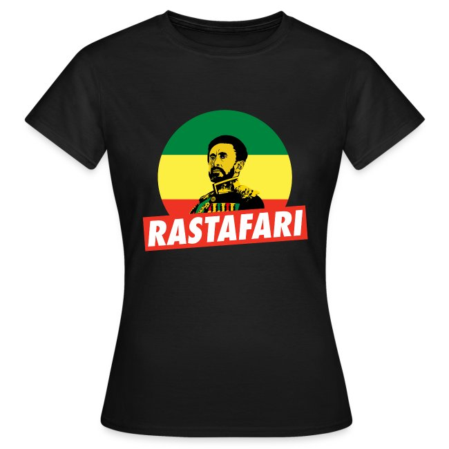 Haile Selassie Jah Rastafari Reggae Roots Empress Shirt