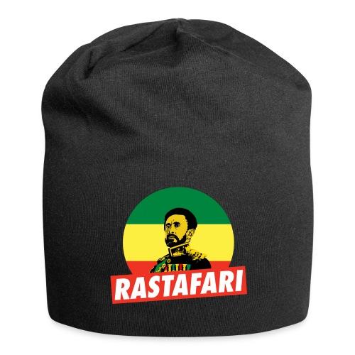 Haile Selassie Jah Rastafari Reggae Roots Beanie - Jersey-Beanie