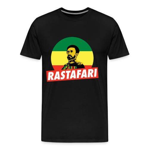 Haile Selassie Jah Rastafari Reggae Roots Emperor Shirt - Männer Premium T-Shirt