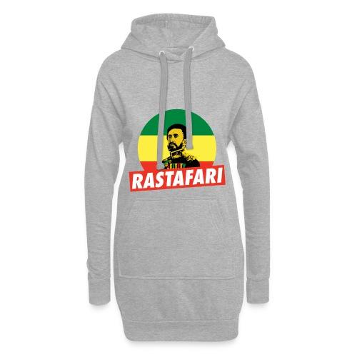 Haile Selassie Jah Rastafari Reggae Roots Hoodie - Hoodie-Kleid