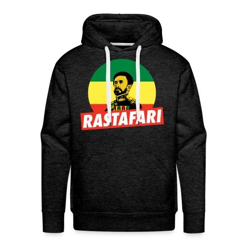 Haile Selassie Jah Rastafari Reggae Roots Hoodie - Männer Premium Hoodie