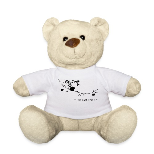 I've Got This! MTB Crash Teddy Bear - Teddy Bear
