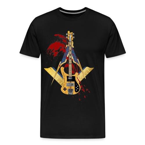 Heavy Masons Sweden Rickenbacker - Premium-T-shirt herr