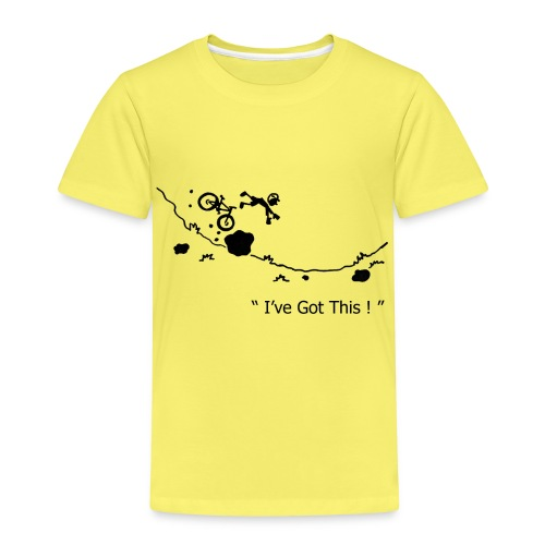 I've Got This! MTB Crash T-Shirt for Mountain Biking - Kids' Premium T-Shirt