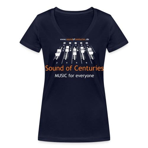Fotografin - Frauen Bio-T-Shirt mit V-Ausschnitt von Stanley & Stella