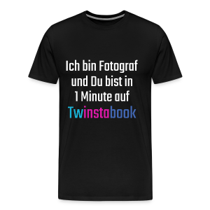 Twinstabook 2 - Männer Premium T-Shirt
