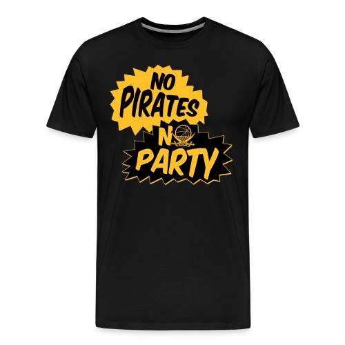 No Pirates - No Party - Männer Premium T-Shirt