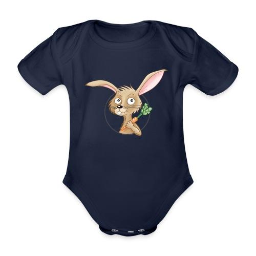 süßes Häschen - Baby Bio-Kurzarm-Body - Baby Bio-Kurzarm-Body