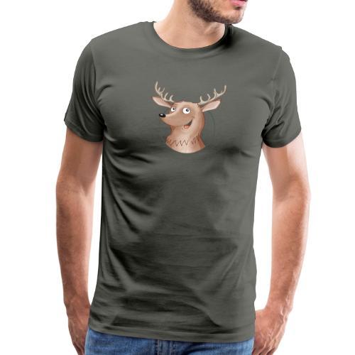 Hirsch - Männer Premium T-Shirt - Männer Premium T-Shirt