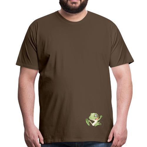 hüpfender Frosch - Männer Premium T-Shirt - Männer Premium T-Shirt