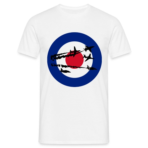Red Arrows Silhouette - Men's T-Shirt