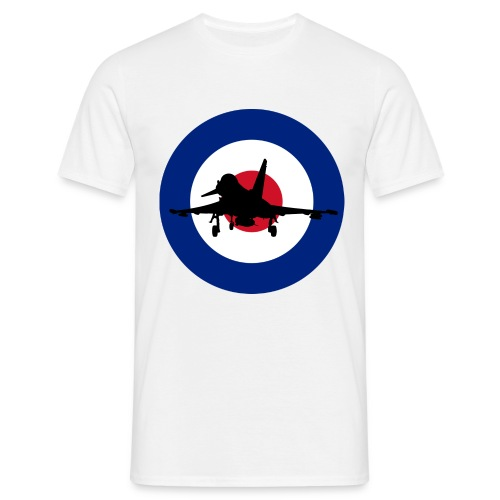 RAF Typhoon Silhoutte - Men's T-Shirt